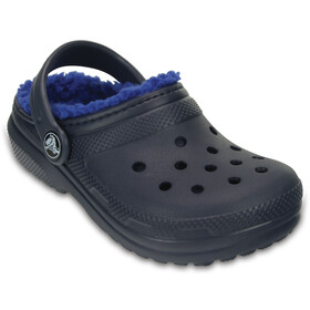 Crocs Classic Lined - Sandales Enfant - bleu